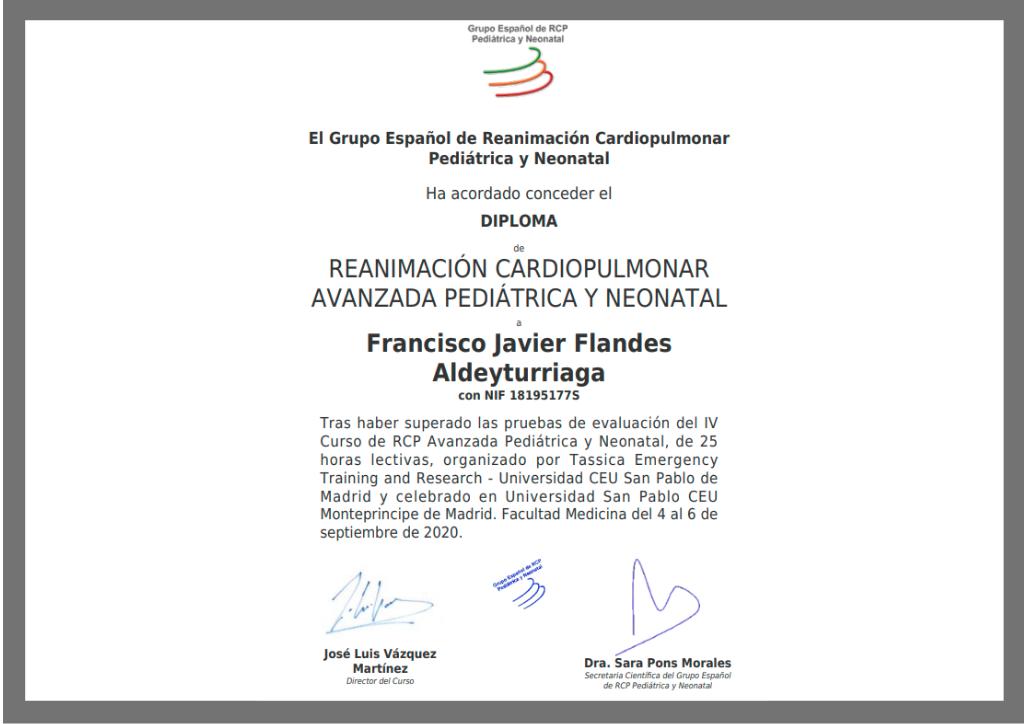 Reconocimiento Reanimacion Cardiopulmonar