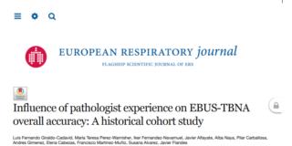 Influencia de la experiencia del patólogo en EBUS-TBNA