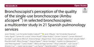 Percepción del broncoscopista de calidad del broncoscopio